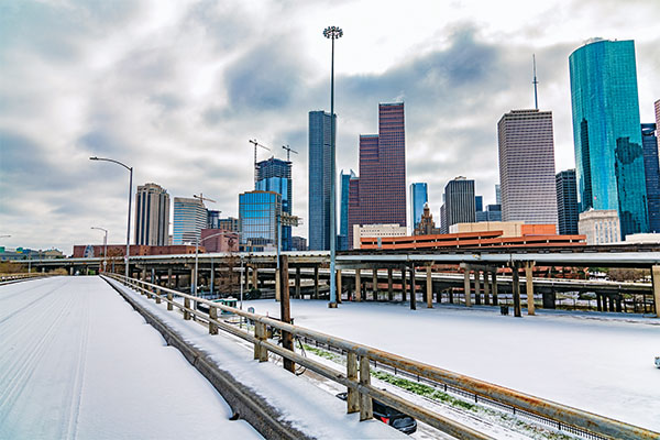 Throughout harsh winters and weather crises, such as what Texas faced this year, propane serves as a dependable energy source. Photo: Art Wager/iStock / Getty Images Plus/Getty Images