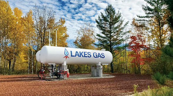 Lakes Gas is among a handful of Minnesota retailers in LP Gas' Top Retailer rankings. Photo courtesy of Lakes Gas