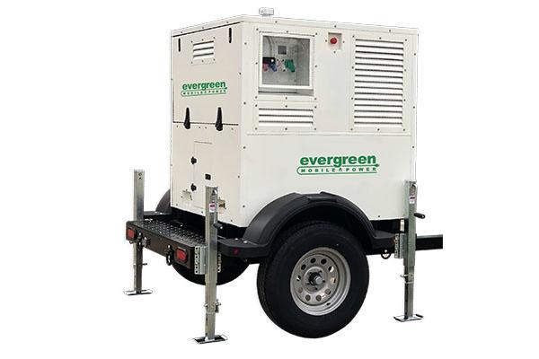 Photo courtesy of Evergreen Mobile Power _ mobile propane generator