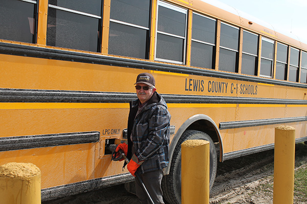 Missouri propane autogas school buses