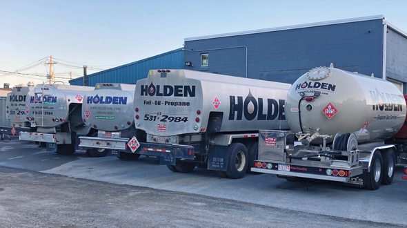 Holden Oil began as a gas station in 1924 before it transitioned into the oil and propane businesses. (Photo: Charles Holden)