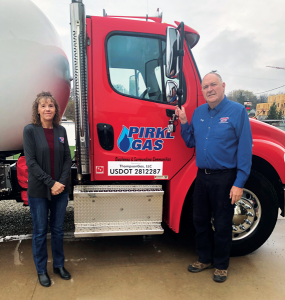 """Greg and Ann Pirkl of Minnesota-based Pirkl Gas say they """"loved the propane company we built."""" They sold it to ThompsonGas last year. (Photo courtesy of ThompsonGas)"""