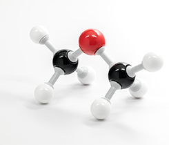 Dimethyl ether molecule image: knowlesgallery/iStock / Getty Images Plus/Getty Images