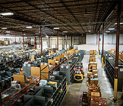 Warehouse photo courtesy of Propane Education & Research Council (PERC)