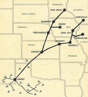 MAPL pipeline map