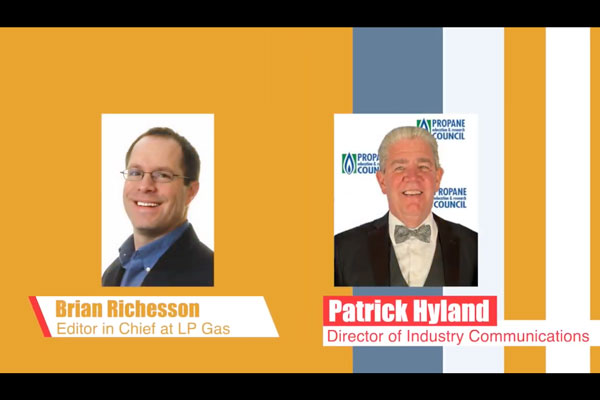 Brian Richesson and Pat Hyland