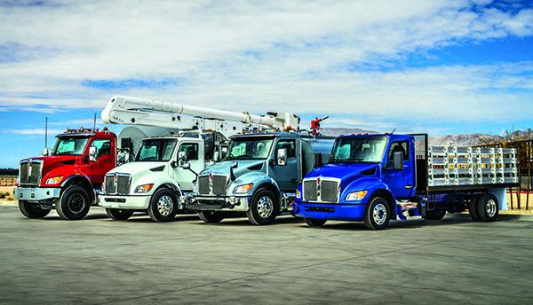 Photo courtesy of Kenworth Truck Co._ medium-duty truck