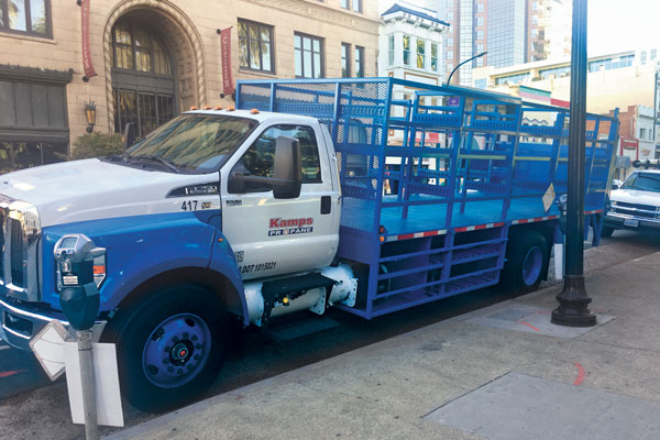 Marketers that run their own vehicles on propane autogas provide credible testimony of the fuel's quality to commercial customers that operate similar fleets. (Photo courtesy of Roush Cleantech)