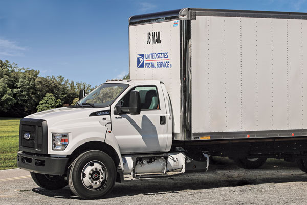 U.S. Postal Service contractors, which run most of the agency's routes, now use autogas. (Photo by Lisa McAbee)