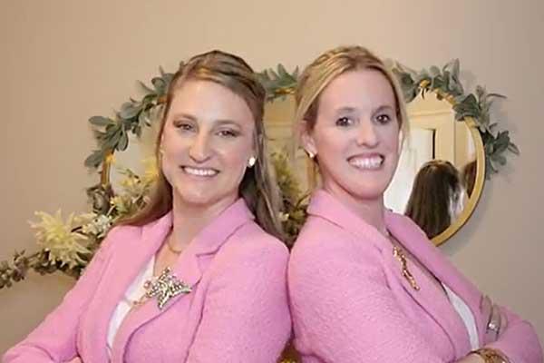 Sarah Berry, left, will serve as vice president of Savvi Industries alongside Amanda Bacon-Davis.