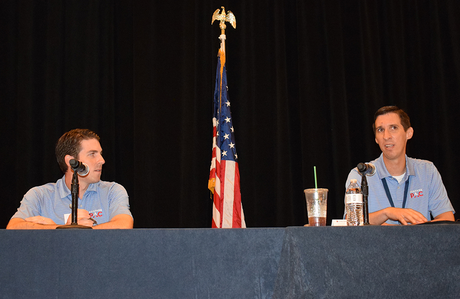 Photo of the NPGA's Tyler Lawrence and Peter Ferrell