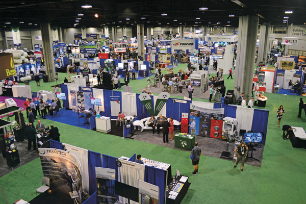 The NPGA Southeastern Convention & International Propane Expo – the industry's largest trade show – is scheduled for Oct. 18-20 at the Georgia World Congress Center in downtown Atlanta. (Photo by LP Gas staff)