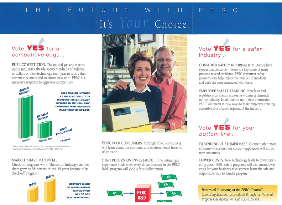 It took a year to rally the support of propane marketers and producers for the referendum to launch PERC. (Image: LP Gas archives)