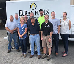 Two generations of Gault and three generations of Rowan families gather on closing day. (Photo courtesy of Cetane Associates)