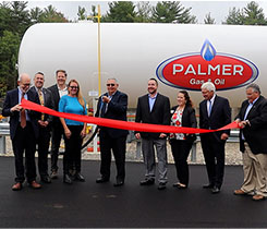Palmer Gas & Oil celebrates the opening of its new fuel storage facility in Somersworth, New Hampshire. Photo courtesy of Palmer Gas & Oil