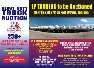LP TANKERS to be Auctioned
