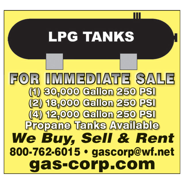We buy and sell high pressure vessels, Propane Tanks