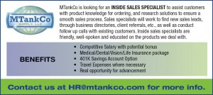 Inside Sales Specialist